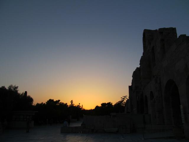 B 日没のアクロポリス