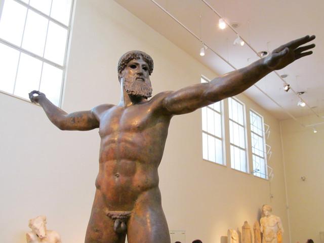 F ポセイドン像(国立考古学博物館)