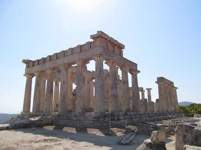 G エギナ島のアフェア神殿